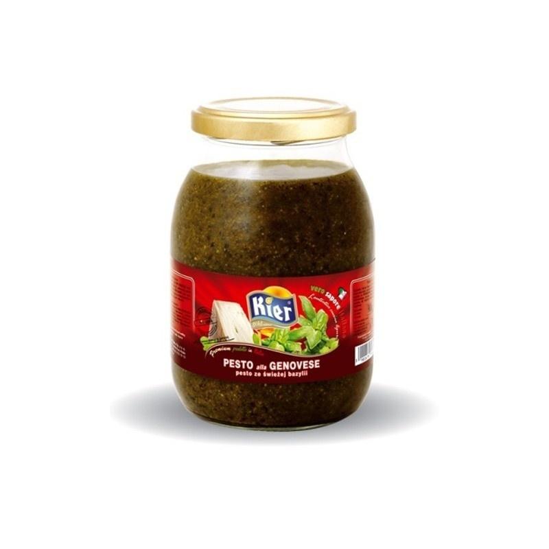 Pesto ze świeżej bazylii duże 960g