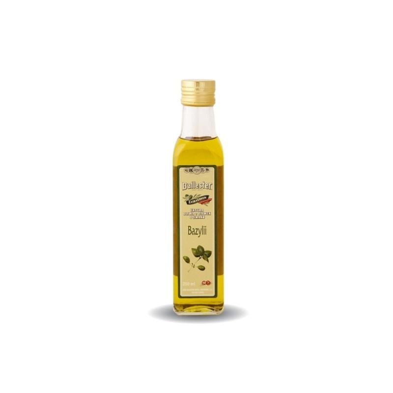 Oliwa z oliwek bazylia 250ml
