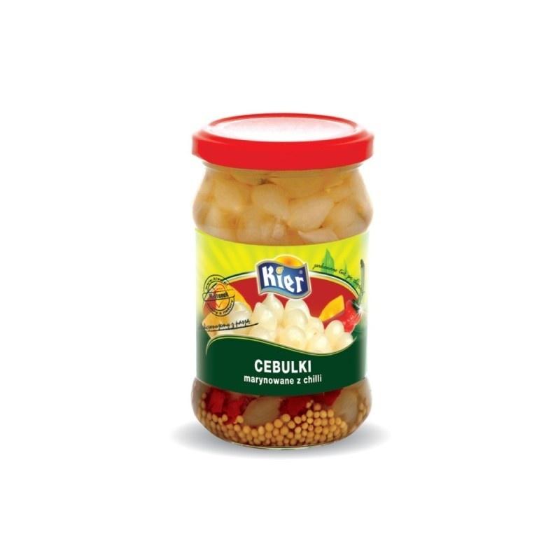 Cebulki marynowane z chilli 300g