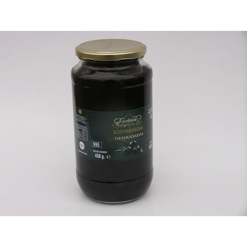 Oliwki czarne bez pestek 935g