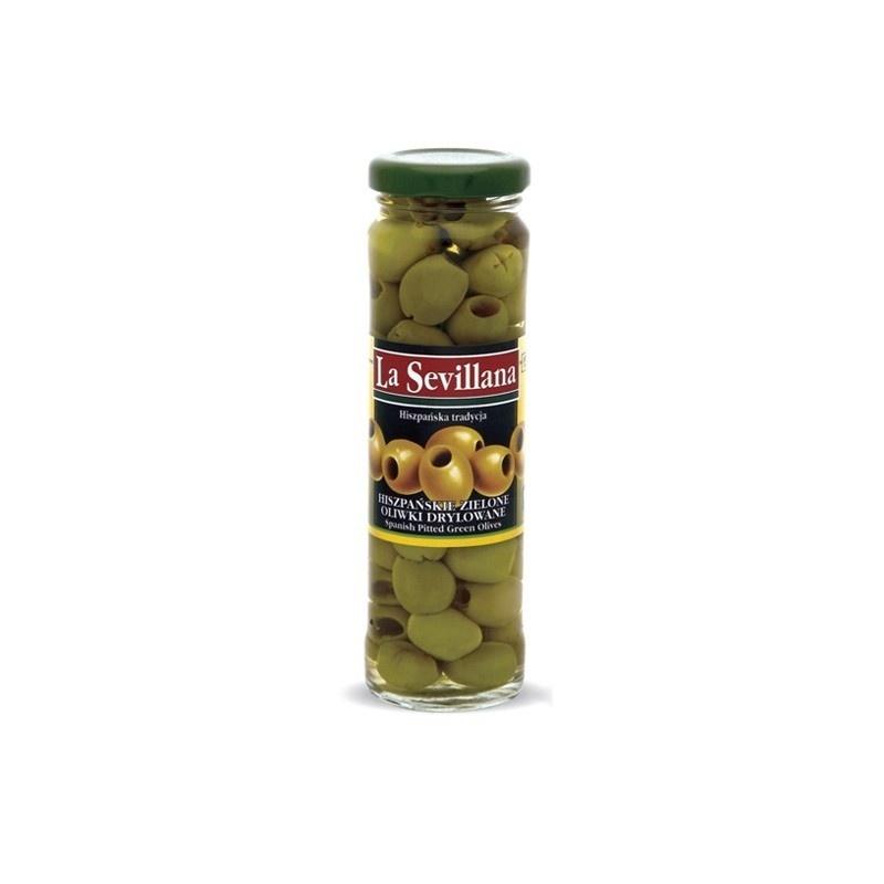 Hiszpańskie oliwki zielone drylowane 156ml
