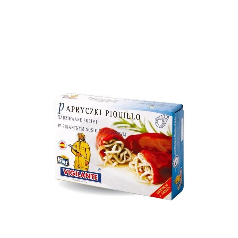 Papryczki piquillo nadz. surimi w sosie czosnkowym