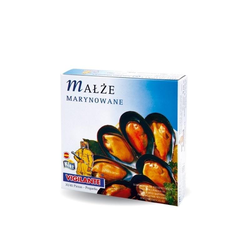 Małże marynowane pikantne 120ml