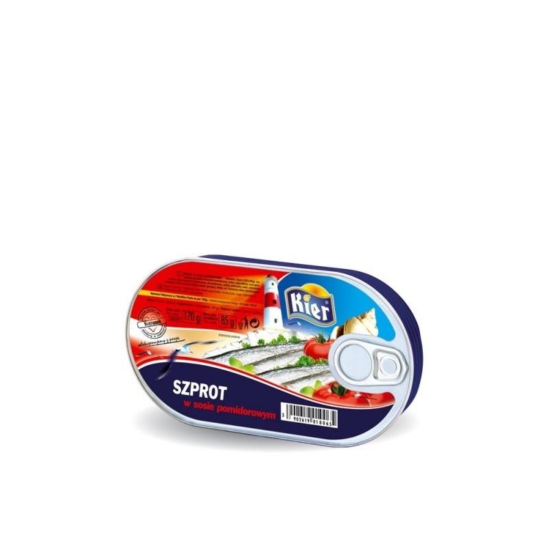 Szprot w sosie pomidorowym 170g