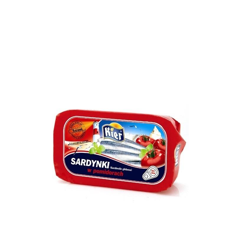 Sardynki w pomidorach 120g