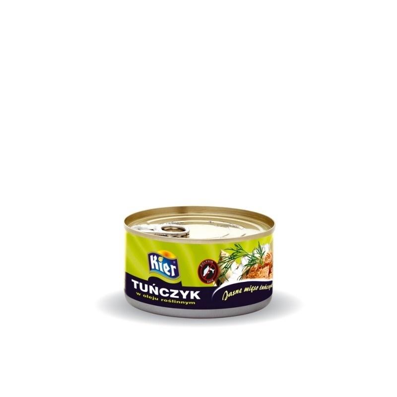 Tuńczyk w oleju roślinnym 170g