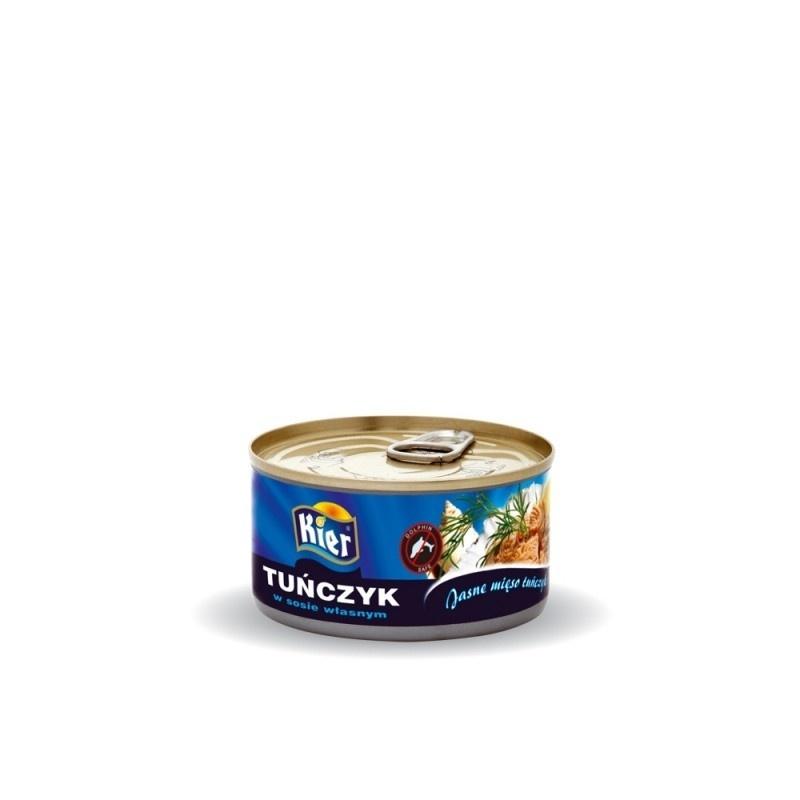 Tuńczyk sosie własnym 170g