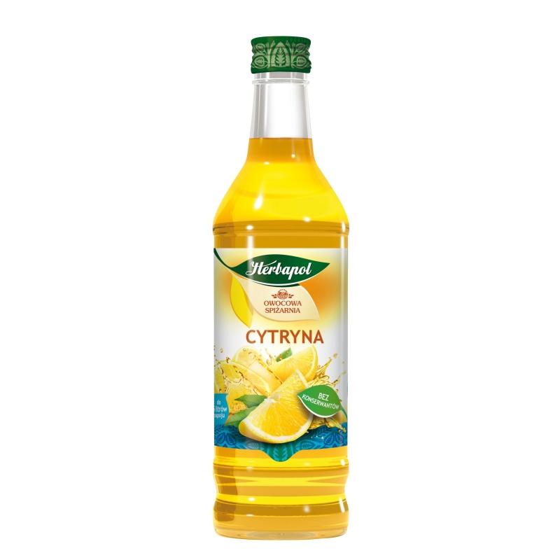 Syrop 420ml Cytryna