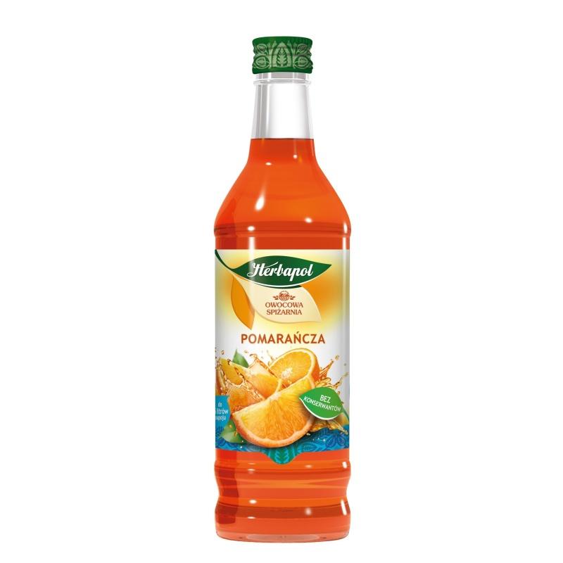 Syrop 420ml Pomarańcza