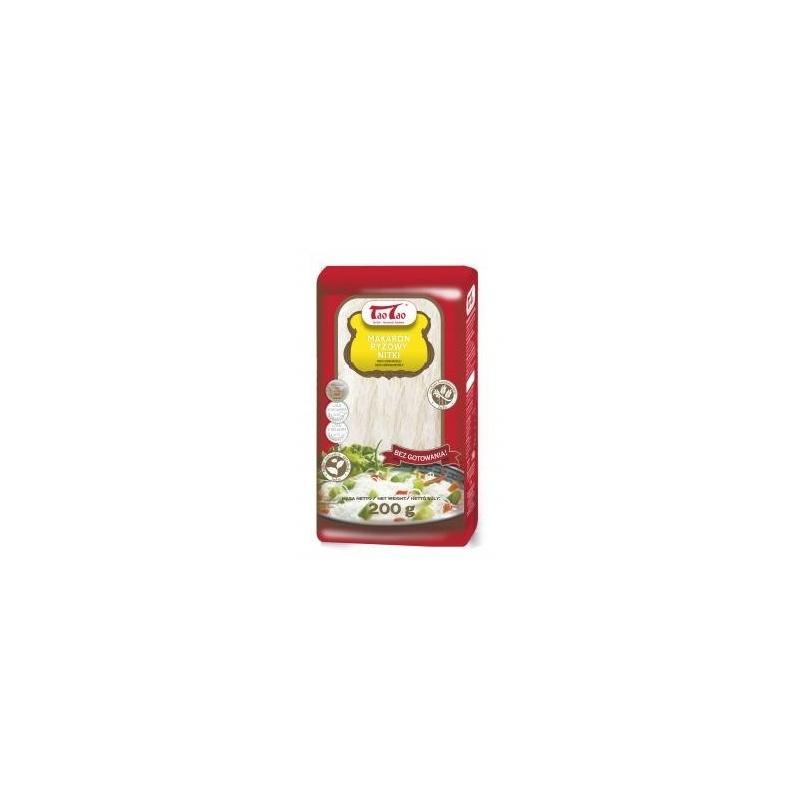 Makaron ryżowy nitki 200G