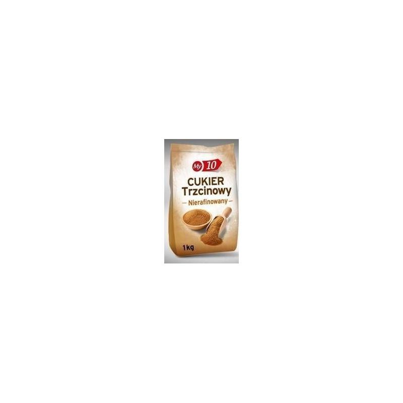 Cukier Trzcinowy Brązowy 1KG (DEMERARA)