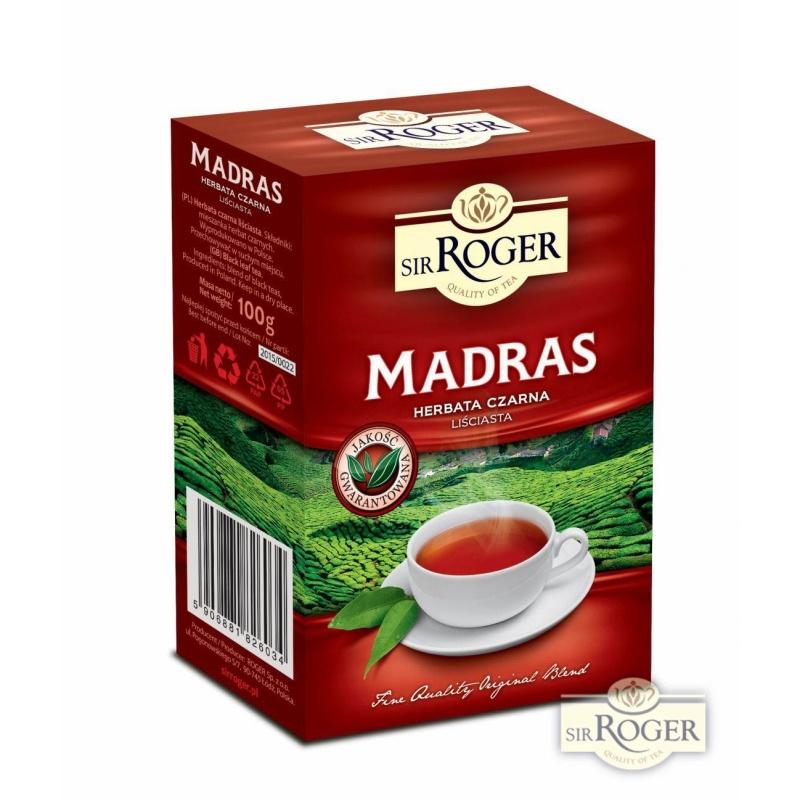Madras herbata czarna liściasta 100g