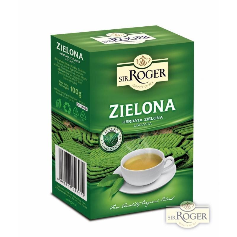 Zielona herbata liściasta 100g