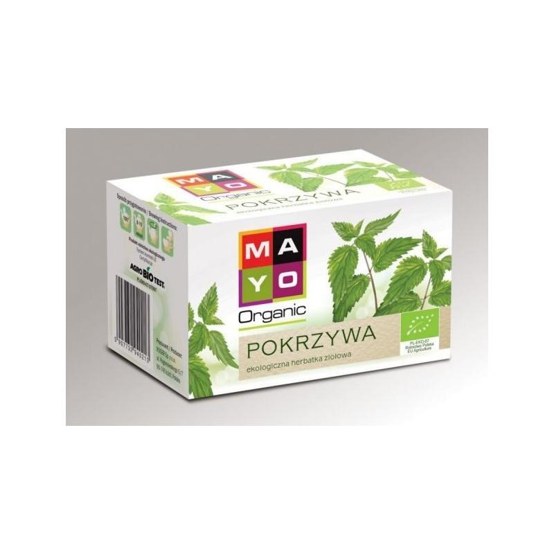 Pokrzywa ekologiczna herbata ekspresowa