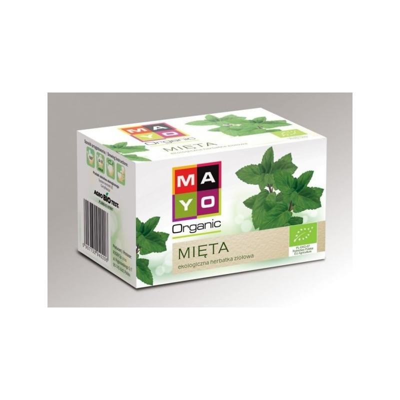 Mięta ekologiczna herbata ekspresowa