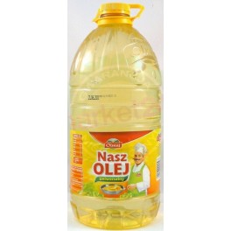 Olej rzepakowy 5 L Nasz Olej