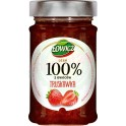 Dżem truskawka 100% 220g