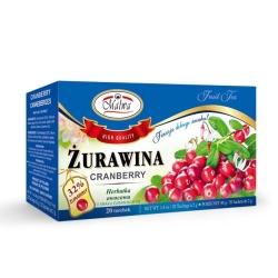 Herbata żurawina ekpresowa 20t