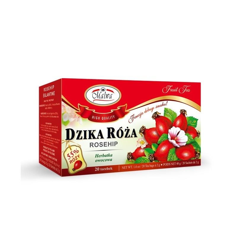 Herbata dzika róża ekpresowa 20t