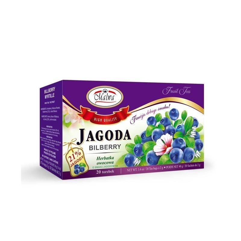 Herbata jagoda ekpresowa 20t