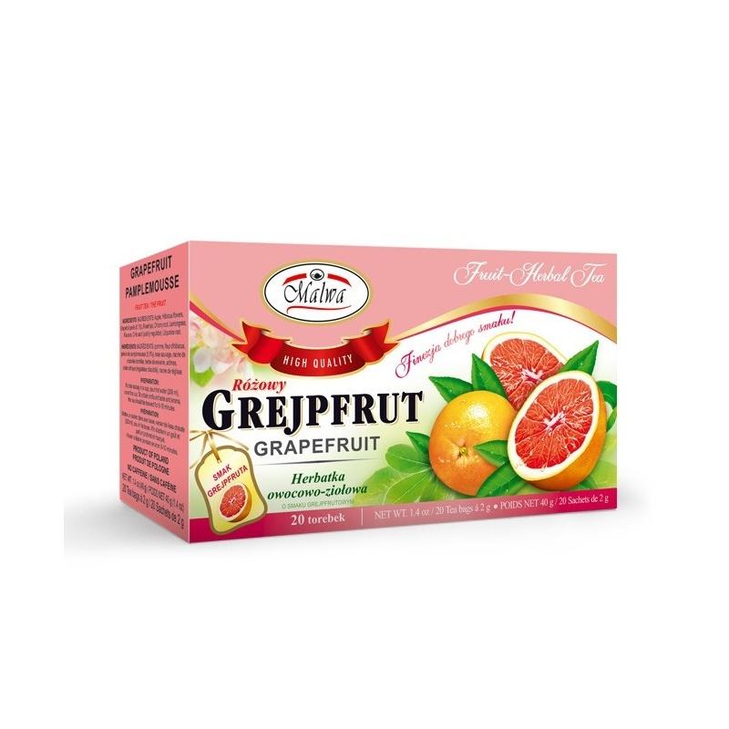 Herbata różowy grejpfrut ekpresowa 20t