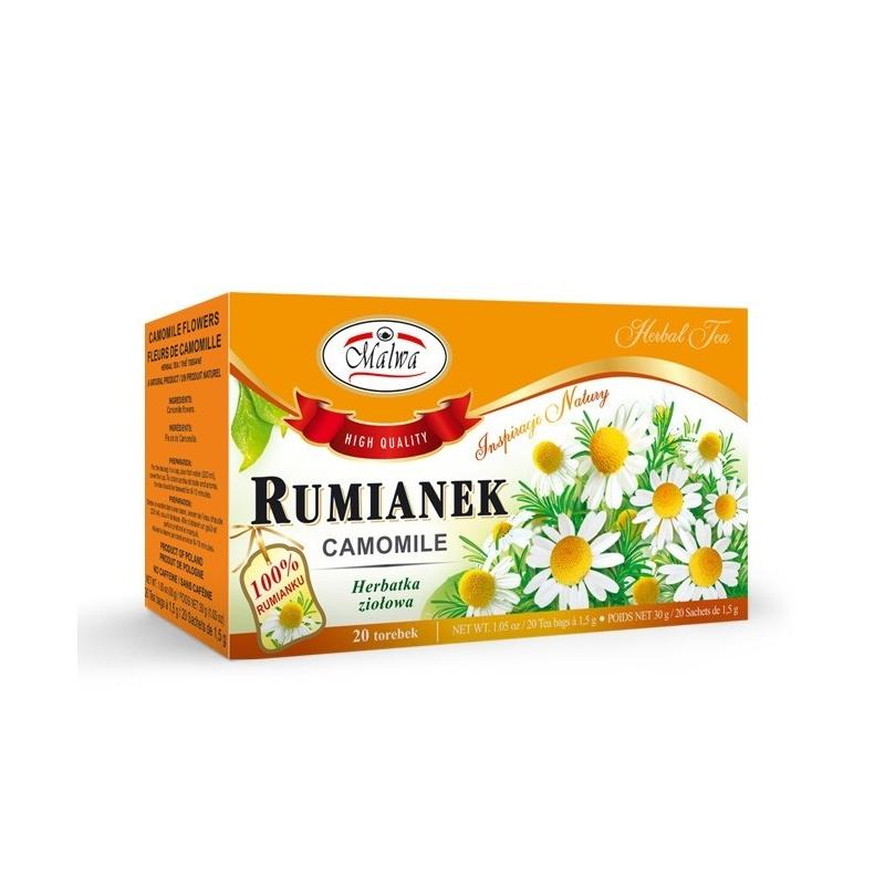 Herbata rumianek ekspresowa 20t