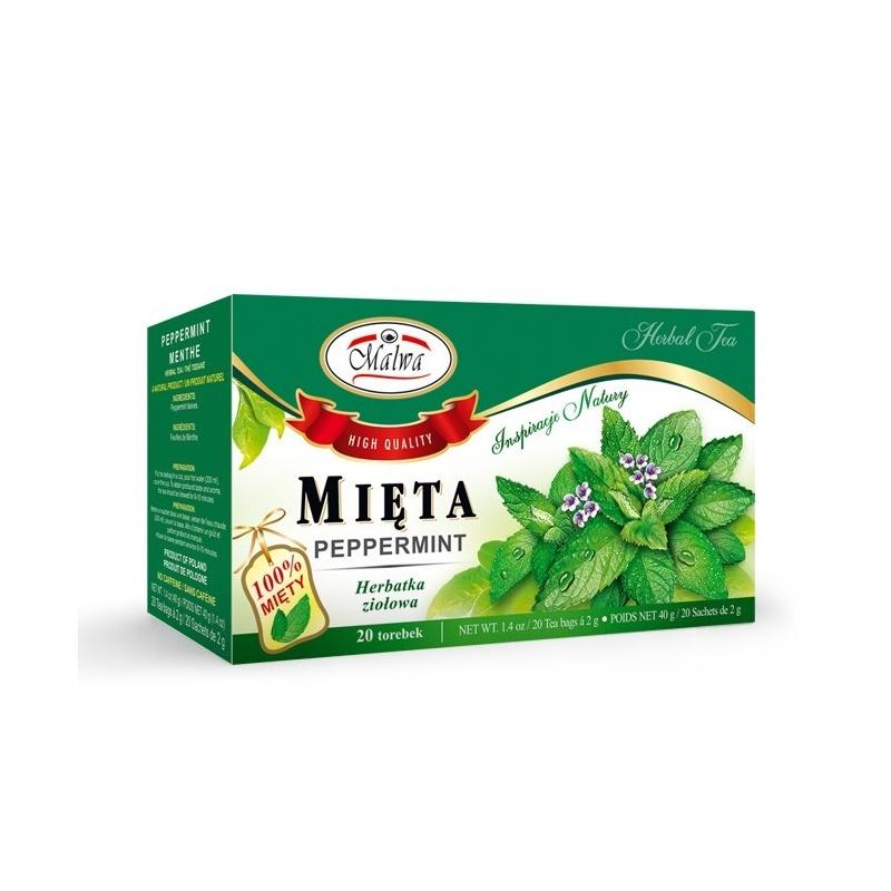 Herbata mięta ekspresowa 20t