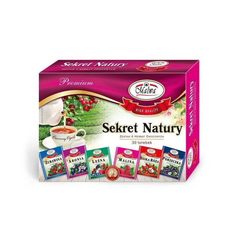 Zestaw herbat owocowych SEKRET NATURY 30t
