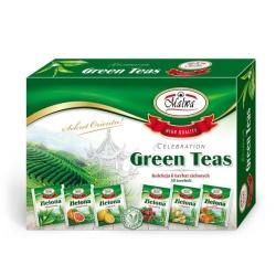 Zestaw herbat zielonych GREEN TEAS 30t