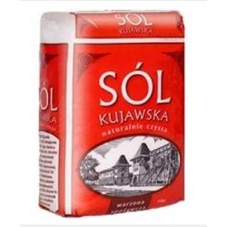 Sól Kujawska DROBNA jodowana 1KG